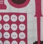 Kokka Sewing tools in pink