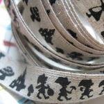 Kokka Linen tape Snow white