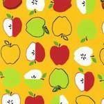 Monaluna metro market apples on yellow