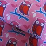 German Import Owl on pink