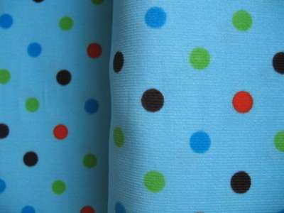 Robert Kaufman cool cords dot in turquoise
