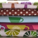 Mini cloth stack Marie Perkins Kitchy kitchen