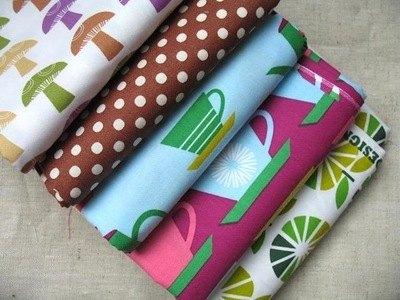 Mini cloth stack Marie Perkins Kitchy kitchen