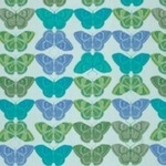 Valorie Wells Cashmere Butterfly in Sapphire