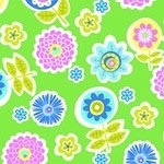 Erin Mc Morris Greenhouse backyard bloom grass on Flannel