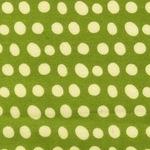 Lesley Grainger green blob pretty paisley FLANNEL
