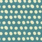 Lesley Grainger blue blob pretty paisley FLANNEL