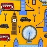 Laurie Wisbrun 'next stop London' yellow