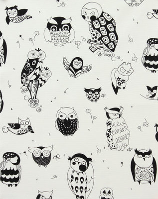 Alexander Henry 'it's a hoot' black Home decor