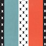 Michael Miller Mid century modern atomic stripe