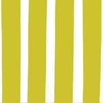Lotta Jansdotter Bella Seaside thick stripe in zest