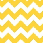 Riley Blake Chevrons in yellow