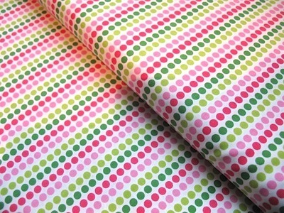 Anne Kelle remix dotty lines in pink