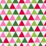 Anne Kelle remix tented triangles in pink