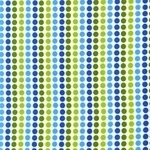 Anne Kelle remix dotty lines in blue