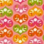 Marie Perkins ELLA patterned love hearts