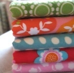 Mini cloth stack cozy girlie Flannels