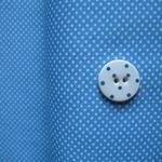 Lecien tiny 1mm pinhead dot white on sky blue