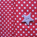 Lecien 6mm dot in red