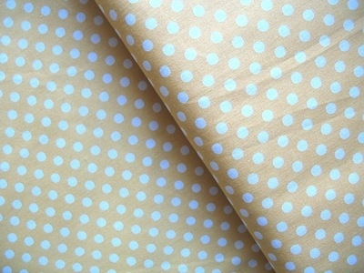 Lecien 6mm dot in buttermilk yellow