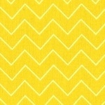 Dear Stella Garden party zig zag in yellow