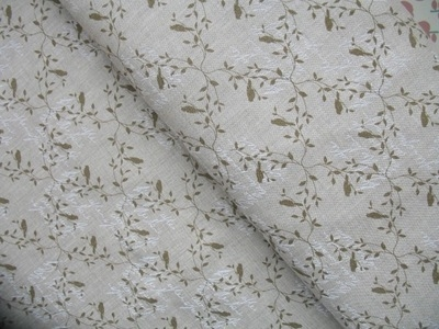 'Madame Bijoux Paris' pure linen bird in sage