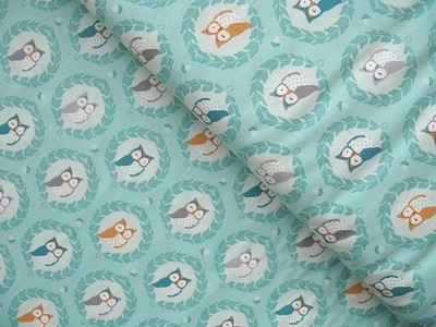 Patty Slongier, Les Amis sweet owlies in aqua