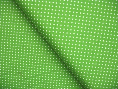 Robert Kaufman 2mm basic dot in lime