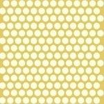 Birch Fabrics ORGANIC dot ties on yellow