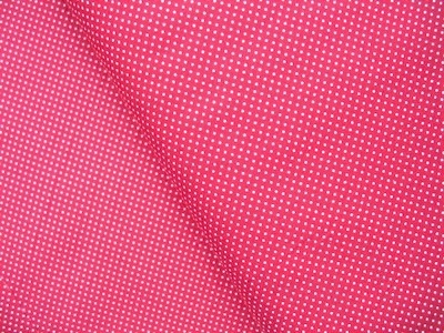 Northcott Simple pleasures  1mm pinhead dot on red