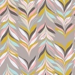 BOLT END - Jessica Swift Sardinia Sparre leaf in grey