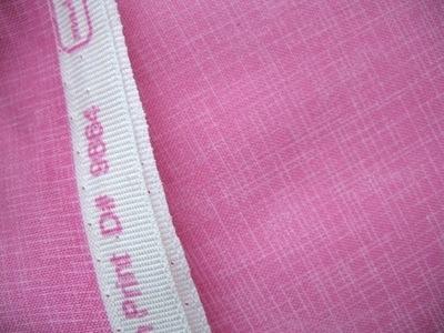 Robert Kaufman's Quilters Linen in pink