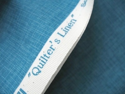 Robert Kaufman's Quilters Linen in dusty blue