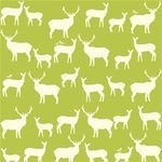 Birch Fabrics ORGANIC mod basics elk in grass