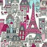 Robert Kaufman Mon Amie street in blush
