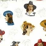 Lorene Carnes Glamour girls in bonnets