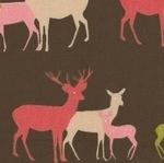 Westfalenstoffe Linz  family of deer (wide)