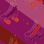 Melody Miller Ruby star sparkle -go with me on skates