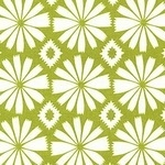 Blend by Ana Davis Pippa Ikat flower head