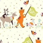Birch Fabrics 'yay day' parade- ORGANIC
