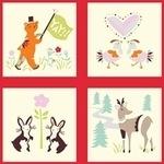 Birch Fabrics 'yay day' quilt blocks ORGANIC