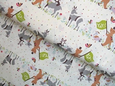 Birch Fabrics 'yay day' parade- ORGANIC