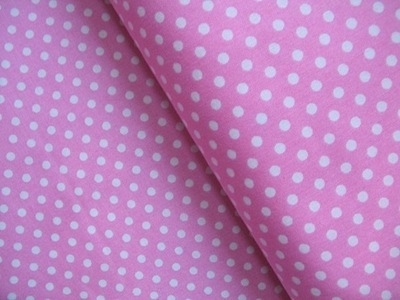 Lecien 4mm dot in candy floss pink