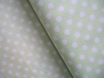 Lecien 6mm dot in softest apple green