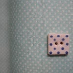 Lecien tiny 1mm pinhead dot white on soft blue