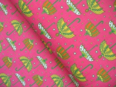 Rebekah Ginda decorative umbrellas on hot pink  CORD