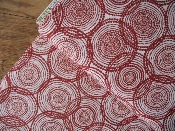 Valori Wells Quill gratitude Aboriginal spots in currant red