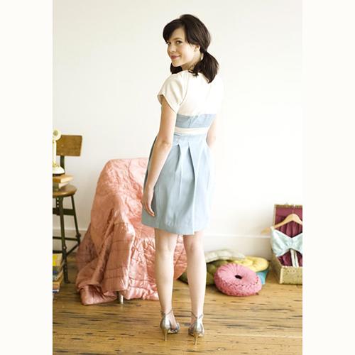 Colette Macaron dress pattern