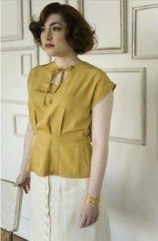Colette Sencha top pattern