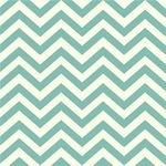 Birch Fabrics ORGANIC skinny chevron pool green  KNIT